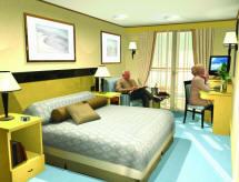 Croisieres de luxe Cunard Croisière cabine britannia balcon