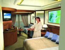 Croisieres de luxe Cunard Croisière suite princess