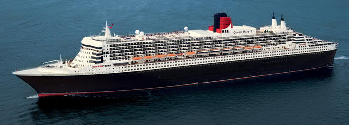 Voyages de luxe Cunard croisieres Line - Queen Mary 2 QM2 2019