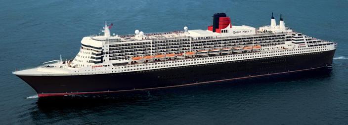 Croisiere de Luxe Cunard croisiere Line - Queen Mary 2 QM2 2012