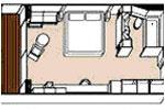 Regent Cruceros Chambre Suite Deluxe Ocean