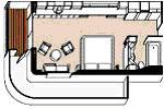 Regent Cruceros Chambre Grand Suite